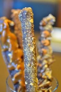 Campfire Delight Pretzel Rods