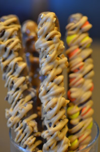 Peanut Butter Pretzel Rods