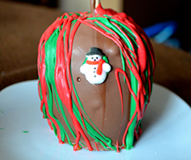 Holiday Plain Chocolate Apple