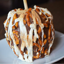 Cinnamon Sugar Pretzel Apple
